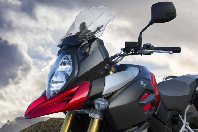 58 Hi Res Photos of the 2014 Suzuki V Strom 1000 2014 Suzuki V Strom 1000 action 14 635x423