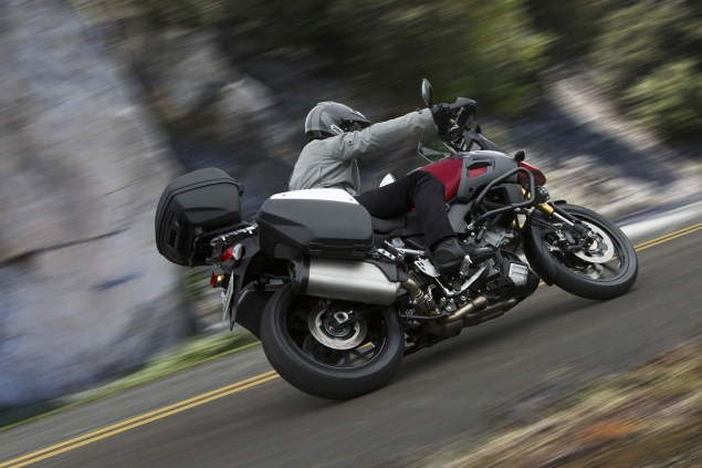 58 Hi Res Photos of the 2014 Suzuki V Strom 1000 2014 Suzuki V Strom 1000 action 16 635x423