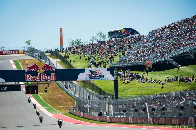 MotoGP: GP Commission Sets Rules for Practice Starts motogp austin cota front straight scott jones 635x422