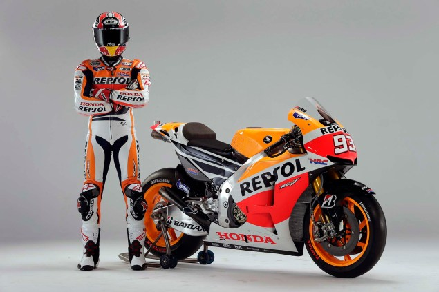 MotoGP: Marc Marquez Signs Two Year Contract with HRC repsol honda rc213v dani pedrosa marc marquez 18 635x423