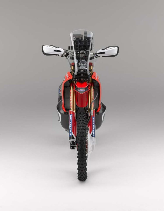 HRC Shows Off the 2014 Honda CRF450 Rally Race Bike 2014 Honda CRF450 Rally 02