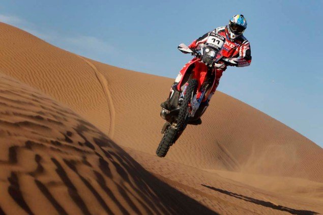 HRC Will Provide the Honda CRF450 Rally to Privateers 2014 Honda CRF450 Rally Metzler team 02