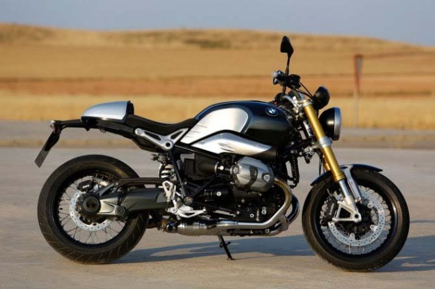 Leaked: Photos of BMWs 90th Anniversary Café Racer BMW NineT R Nine air cooled cafe racer leak 04