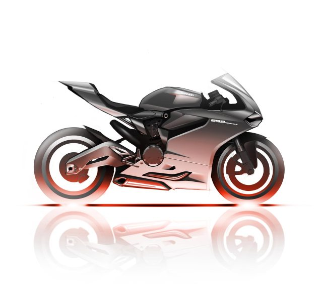 On Board Video of the Ducati 899 Panigale at Imola Ducati 899 Panigale sketch 635x607