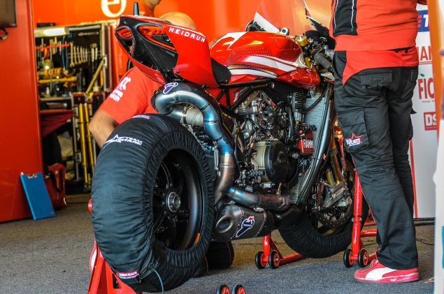 Alstare Splits with Ducati in World Superbike alstare ducati pit laguna seca jensen beeler 635x421