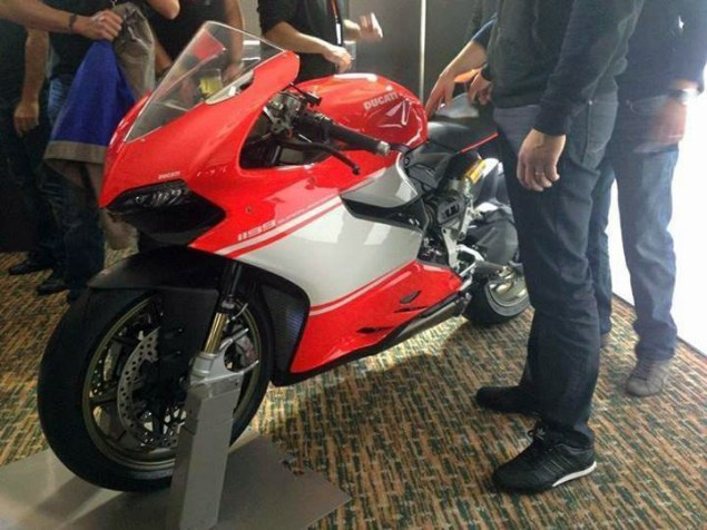 Photo: This is the Ducati 1199 Superleggera ducati 1199 superleggera