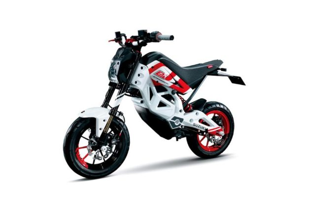 Suzuki EXTRIGGER: An Electric Monkey Bike? suzuki extrigger concept