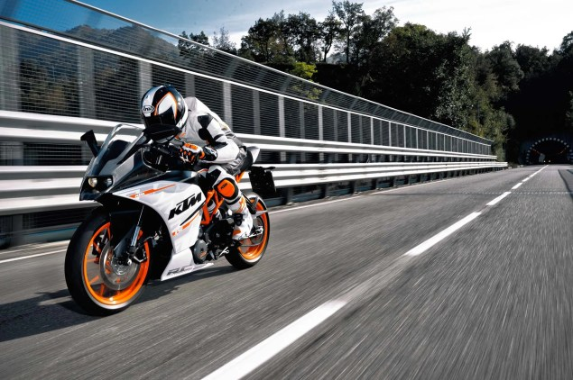 Officially Official: 2014 KTM RC390 2014 KTM RC390 08 635x422