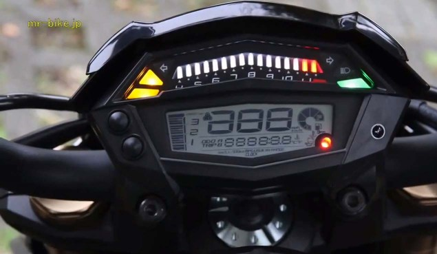 More Photos and Video of the 2014 Kawasaki Z1000 2014 Kawasaki Z1000 video leak 11 635x369