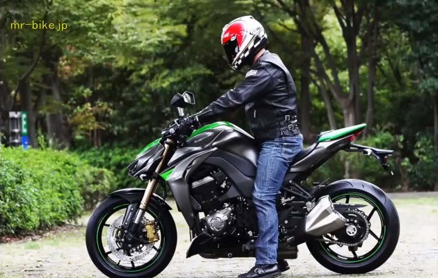 More Photos and Video of the 2014 Kawasaki Z1000 2014 Kawasaki Z1000 video leak 18 635x403