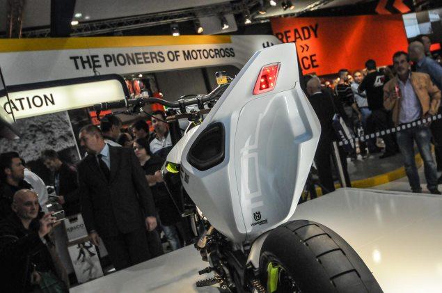 Photos: Husqvarna 701 Concept   A Future Supermoto? Husqvarna 701 Concept EICMA 2 635x421