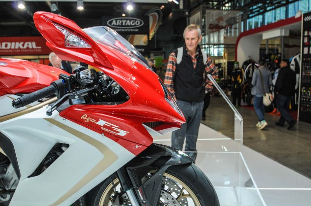 Up Close with the MV Agusta F3 800 Ago MV Agusta F3 800 Ago EICMA 12 635x421