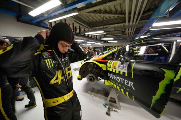 Picts & Video of Valentino Rossi at the Monza Rally Show Valentino Rossi 2013 Monza Rally Show 13