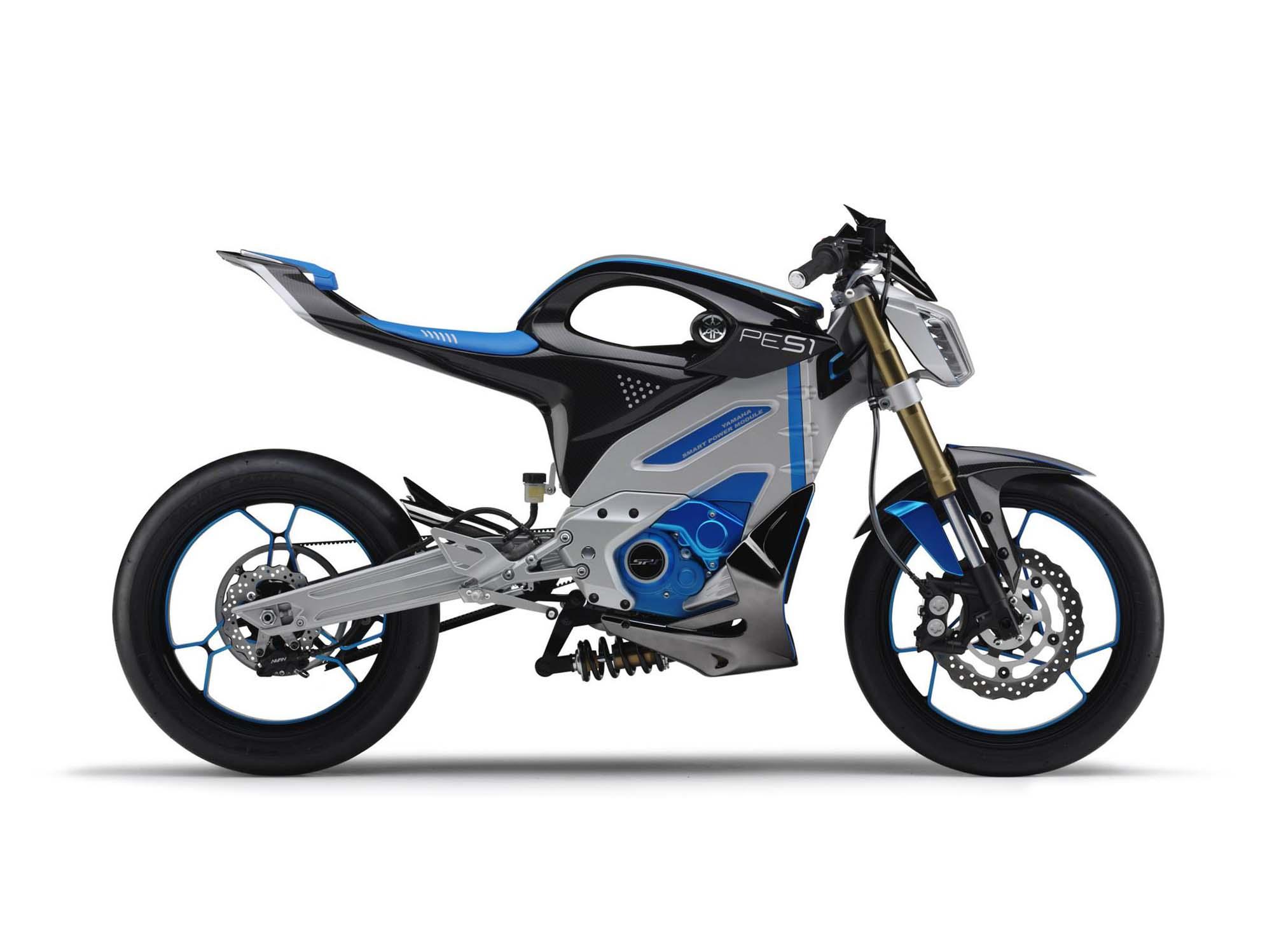 Looks Like the Yamaha PES1 Electric Street Bike Is a ...