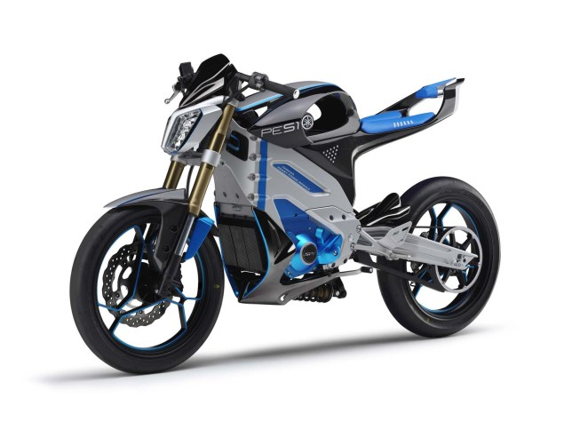 Looks Like the Yamaha PES1 Electric Street Bike Is a Runner Yamaha PES1 electric concept 04 635x475