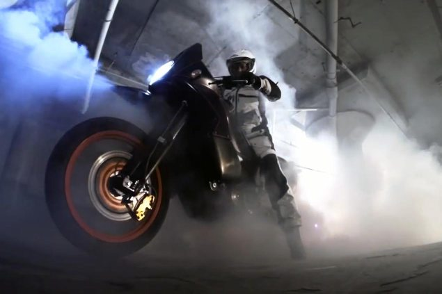 Video: The Unholy Two Wheeled Motorcycle Burnout two wheeled burnout 635x423