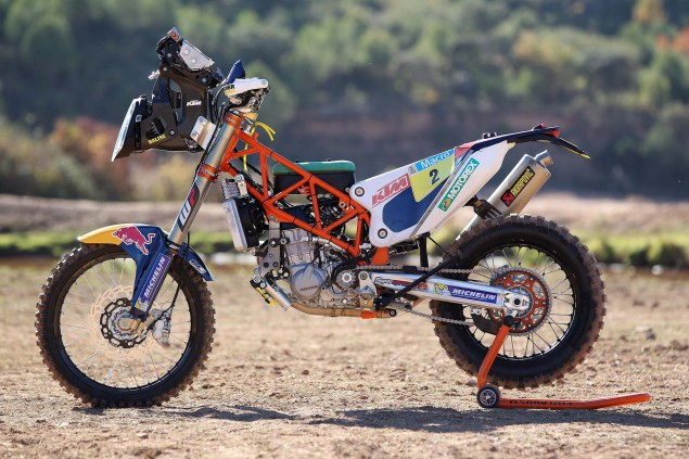 XXX: 13 Photos of the 2014 KTM 450 Rally Buck Naked 2014 KTM 450 Rally race bike 11 635x423