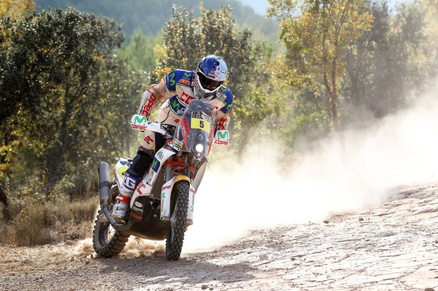 Video: KTM Readies for the 2014 Dakar Rally 2014 KTM Dakar Rally Lopez 03 635x423