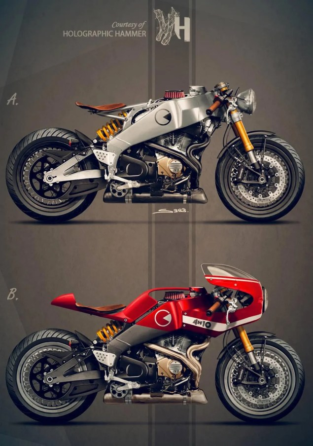 Buell Firebolt XB12R Concept by Holographic Hammer buell firebolt xr12 holographic hammer concept