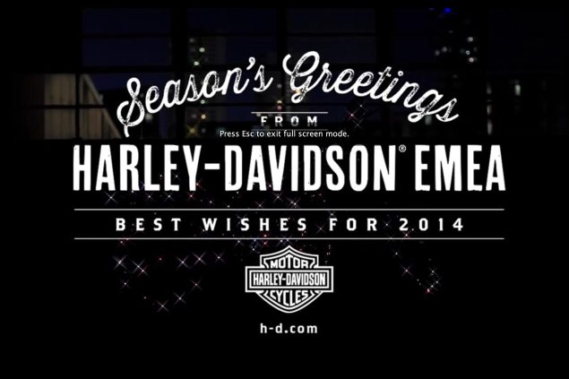 Video: The Sound of the Festive Season harley davidson merry christmas 2014 635x423
