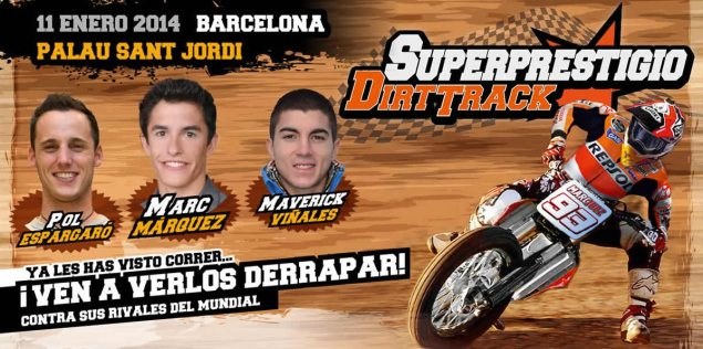 Clash of the Champions: Flat Track and GP Stars Will Race at Superprestigio Flat Track Event superprestigio dirt track race