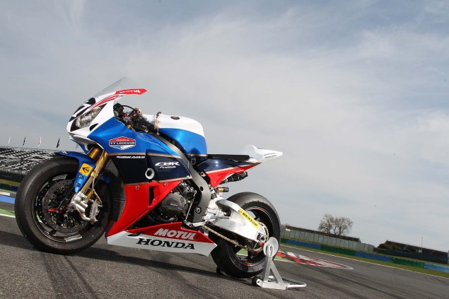 BOL DOR TEST TEAM HONDA TT LEGENDE