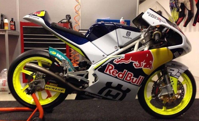 First Look at the Husqvarna Moto3 Race Bike Husqvarna Moto3 race bike 05 635x387