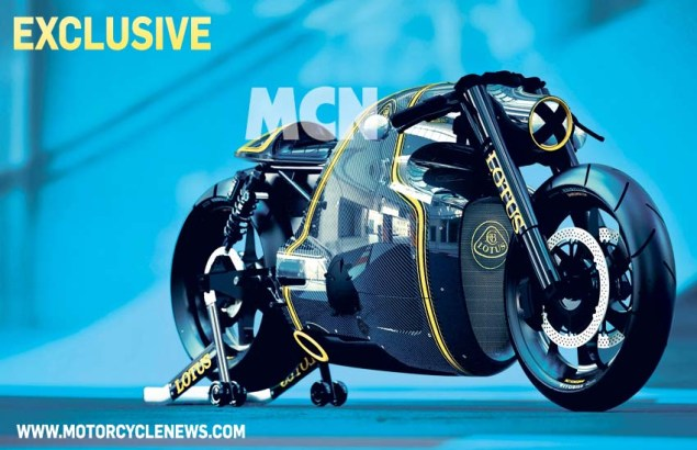 200 Horsepower Lotus C 01 Hyperbike Breaks Cover Lotus C 01 03