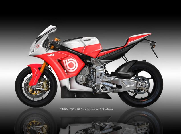 Bimota Taps Alstare for Race Development and Support   Badovini & Iddon Will Ride World Superbike EVO Entries alstare bimota bb3 wsbk 635x472