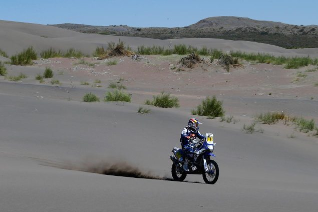 Dakar Rally – Stage 4: Disaster for Cyril Despres cyril despres yamaha racing dakar rally 635x423