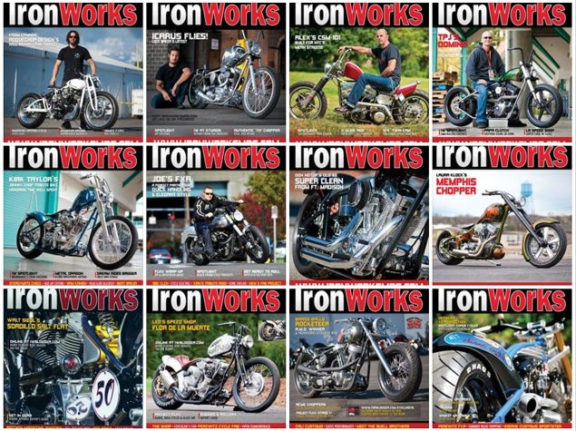 IronWorks Magazine Will Stop Publishing in March ironworks magazine covers 635x475