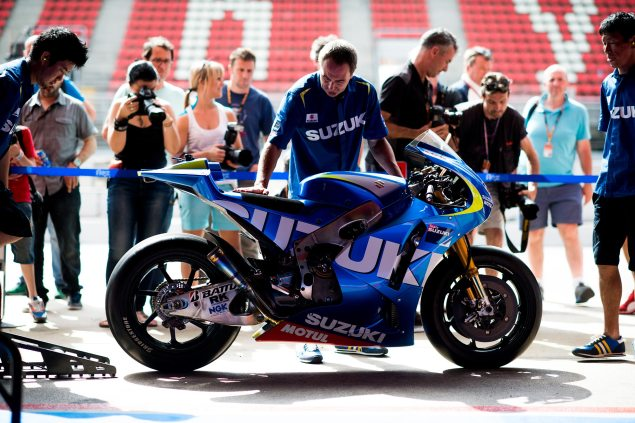 Video: Suzuki MotoGP Development Report, Part 3 suzuki motogp aragon test 635x423