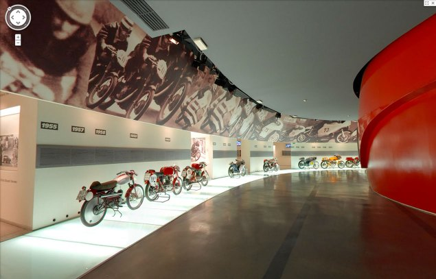 Ducati Museum Goes Virtual with Google Maps ducati museum google streetview 635x407