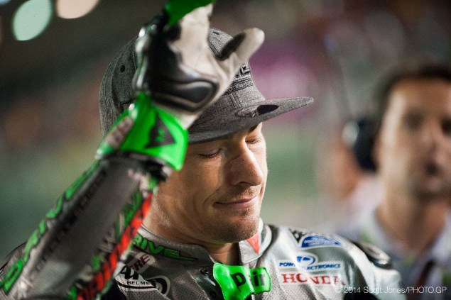 MotoGP: Nicky Hayden Confirms He Will Miss Misano, Hopes to Return for Aragon 2014 MotoGP Qatar GP Sunday Scott Jones 05 635x423