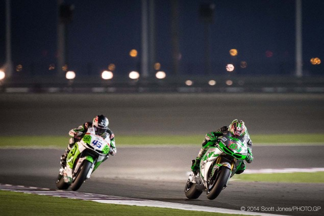 Fuel or Electronics? Where Are Nicky Hayden & Scott Redding Losing Out on the Honda RCV1000R? 2014 MotoGP Qatar GP Sunday Scott Jones 16 635x423