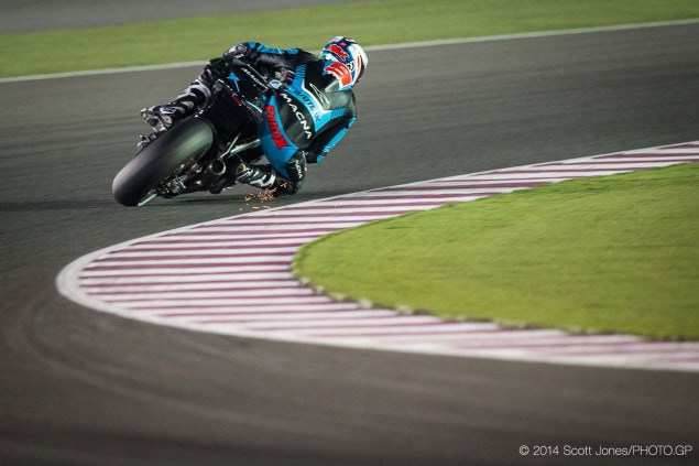 Aprilia Mounting a Return to MotoGP in 2016 2014 Qatar GP MotoGP Friday Scott Jones 05 635x423