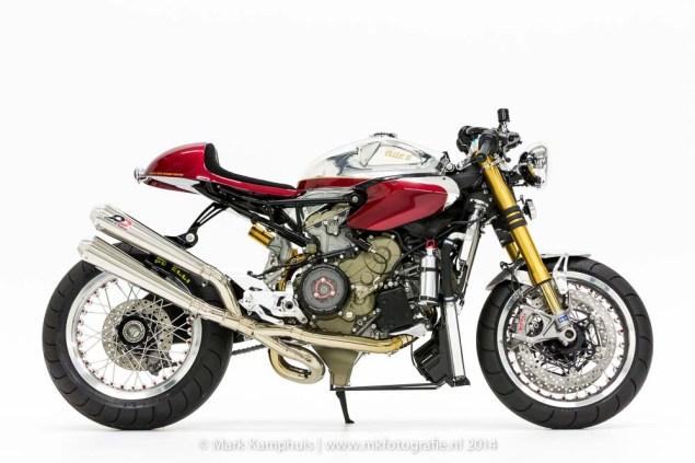 Ducati Elite II Café Racer by Moto Puro Ducati Elite II Cafe Racer Moto Puro 07 635x423