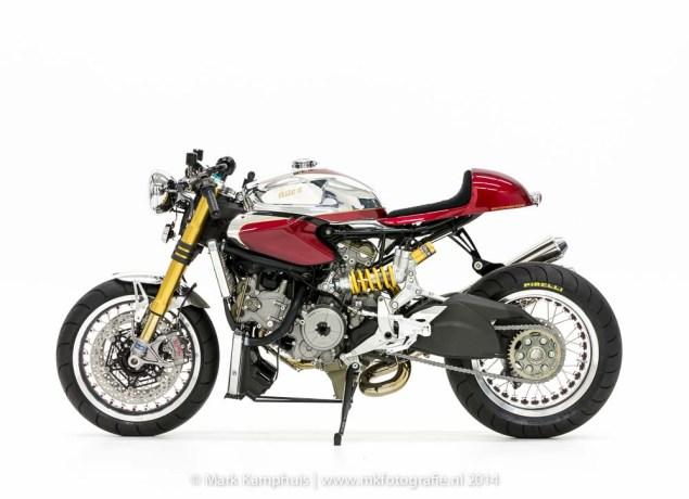 Ducati Elite II Café Racer by Moto Puro Ducati Elite II Cafe Racer Moto Puro 14 635x460