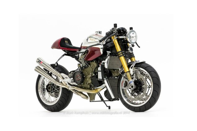 Ducati Elite II Café Racer by Moto Puro Ducati Elite II Cafe Racer Moto Puro 635x423