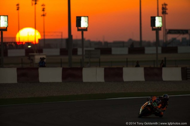 Trackside Tuesday: The Setting Sun Living the Dream Tony Goldsmith MotoGP Qatar 11 635x423