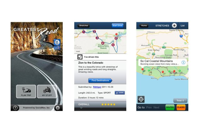 Here Are Five Essential Mobile Apps for Motorcyclists the greatest road 635x425