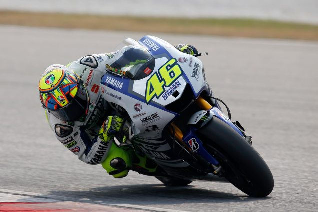 MotoGP: Movistar as Yamahas Title Sponsor for Five Years valentino rossi sepang test movistar yamaha 635x423