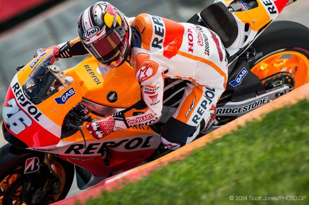 MotoGP: Dani Pedrosa Signs with HRC Thru 2016 2014 Friday COTA Austin MotoGP Scott Jones 171 635x423