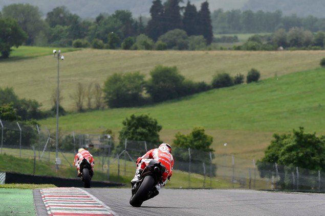 MotoGP: Ducati Corse Completes One Day Test at Mugello Ducati Corse Mugello MotoGP test 02 635x423