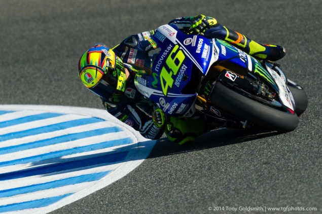 Friday Summary at Jerez: On a Revitalized Rossi, & Under Sweltering Spanish Heat Friday Jerez Spanish GP Tony Goldsmith 06 635x422