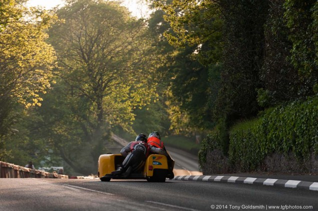 IOMTT: Greeba Castle with Tony Goldsmith Greeba Castle Isle of Man TT 2014 Tony Goldsmith 01 635x422