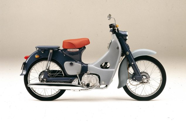 Honda Super Cub Becomes the First Vehicle to Obtain a Three Dimensional Trademark in Japan Honda Super Cub C100 635x423