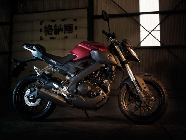 Yamaha MT 125   Europe Gets Another MT  Yamaha MT 125 04 635x476