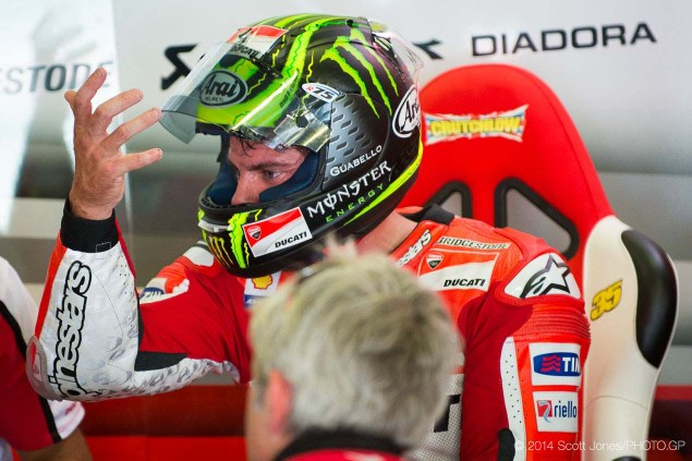 Officially Official: Crutchlow Leaves Ducati for LCR Honda 2014 Catalan GP MotoGP Friday Scott Jones 14 635x423