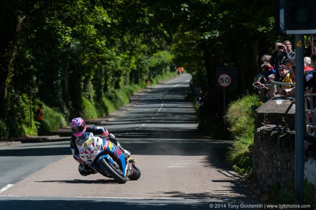 IOMTT: Ballacraine with Tony Goldsmith 2014 Isle of Man TT Ballacraine Tony Goldsmith 01 635x422
